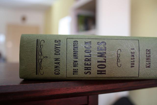 Boek Sherlock Holmes