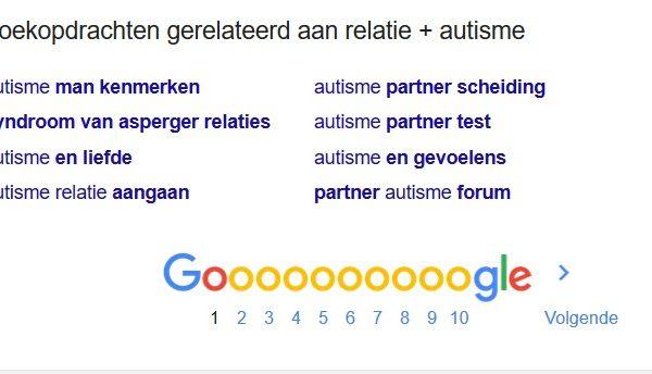 autisme partner zoektermen